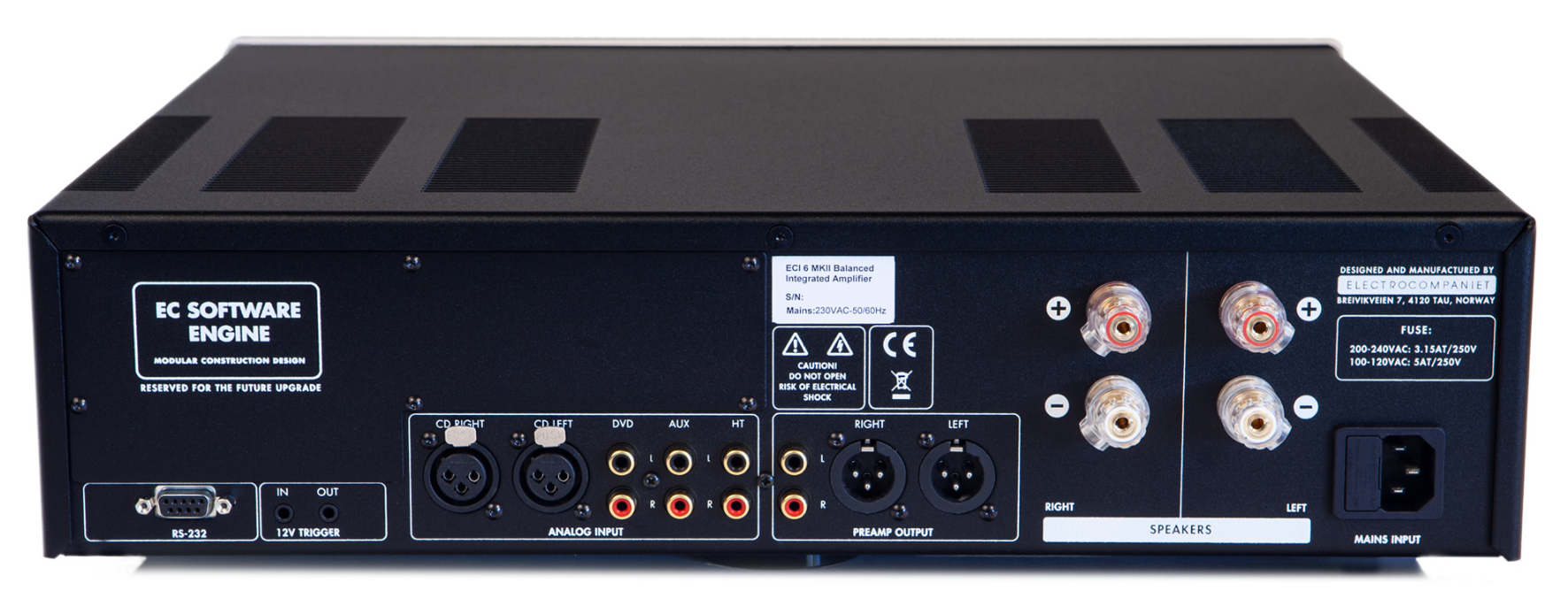 Ampli Electrocompaniet ECI 6 MkII