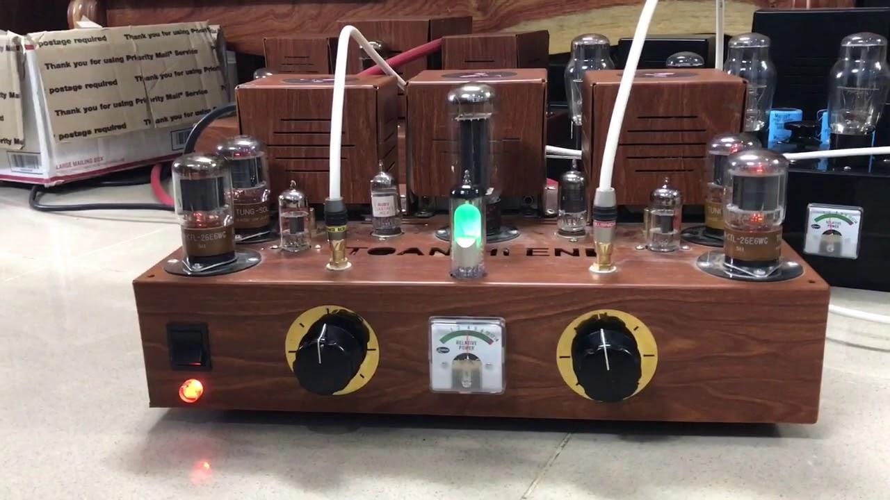 Amply đèn điện tử