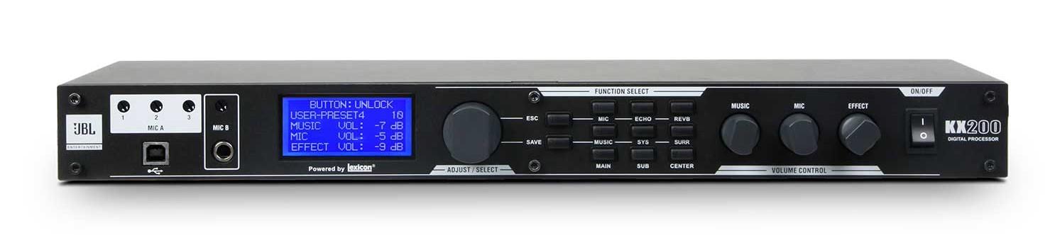 Hướng dẫn cách chỉnh thông số cài đặt Mixer Karaoke JBL Kx200