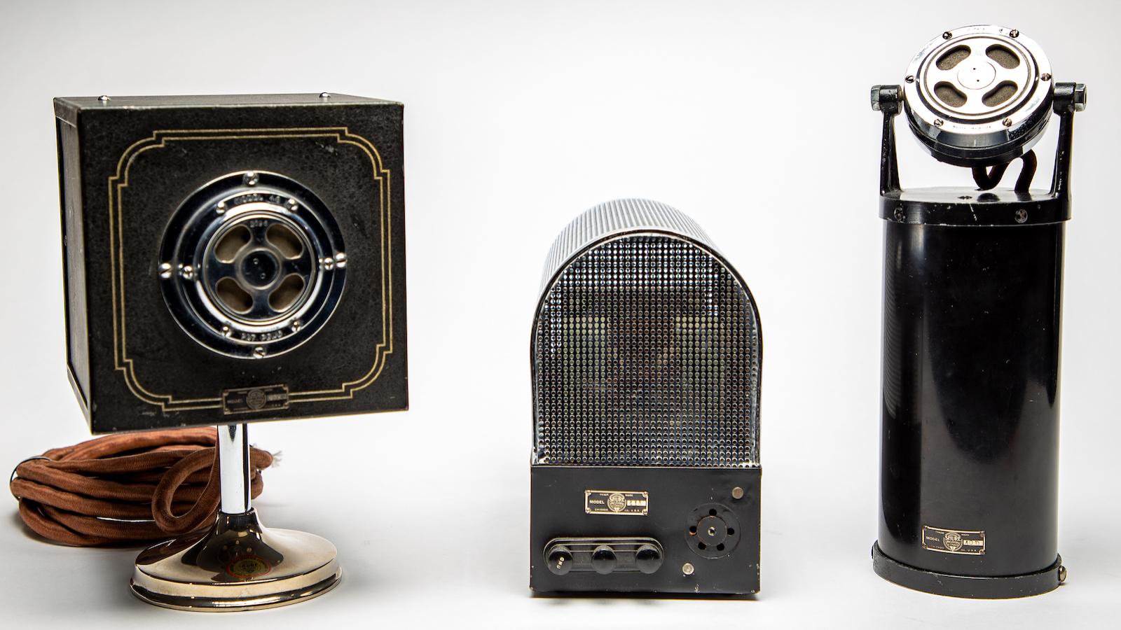 lịch sử micro tụ điện, micro điện dung