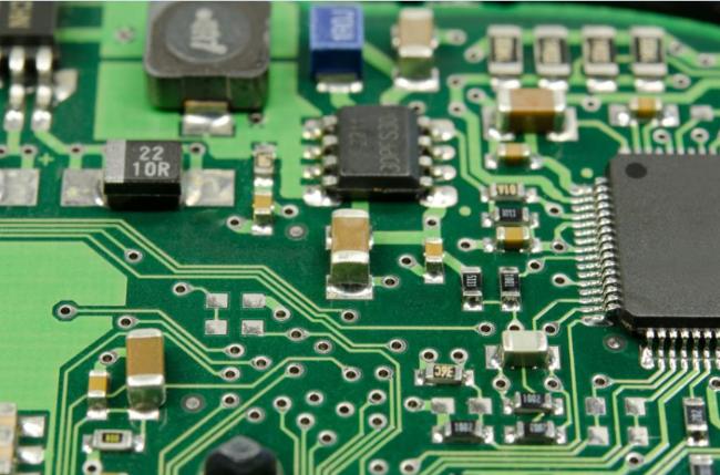 Hình ảnh một mạch điện kỹ thuật số