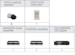 Các thiết bị trong hệ thống âm thanh showroom nhỏ